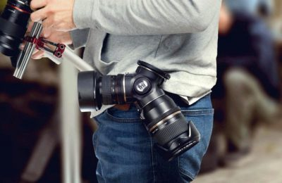 Photography lens carrier